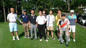 ゴルフ集合写真